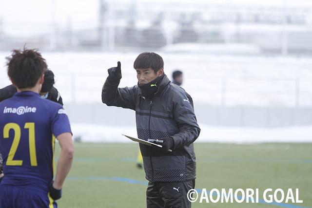 ブランデュー弘前FCがJFLのヴァンラーレ八戸とトレーニングマッチ ...
